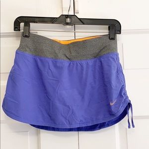 Nike DRI FIT Athletic Workout Size S Skort